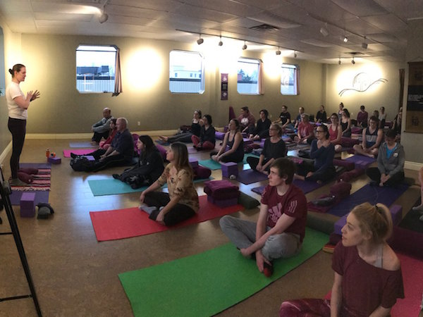 KARma yoga fundraiser